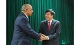 Le président de la CGT du Vietnam reçoit l'ambassadeur de Cuba à Hanoï