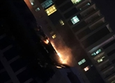 Un incendie ravage la Torch Tower à Dubaï
