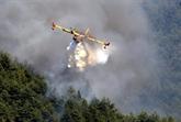 Corse : 170 hectares brûlés à Palneca, l'incendie a basculé en Haute-Corse