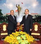 Hô Chi Minh-Ville prête à renforcer ses liens avec les localités du Laos
