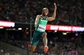 Athlétisme : le Sud-Africain Luvo Manyonga sacré au saut en longueur