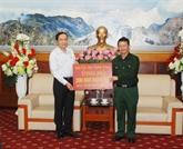 Assistance des sinistrés à Lào Cai