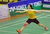 Vu Thi Trang se distingue au Championnat du monde de badminton 2019