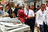 Irma : après Saint-Martin dévasté, Macron au chevet de Saint-Barthélemy