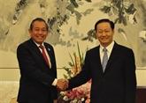 Le vice-Premier ministre Truong Hoà Binh espère un nouvel élan des liens Vietnam - Chine