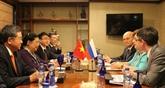 Renforcement de la coopération parlementaire Vietnam - Russie