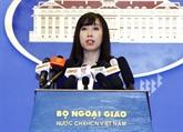 Le porte-parole du ministère des AE met à jour le règlement de la mort d'un citoyen vietnamien à Taïwan