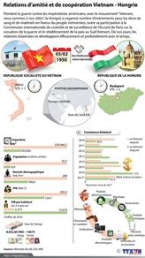 Les relations d'amitié et de coopération Vietnam - Hongrie en infographie