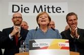 Allemagne : Merkel victorieuse mais affaiblie par un