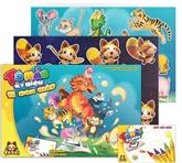 TADA Books : des livres de coloriage en 3D pour les enfants de 3 à 7 ans