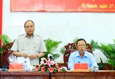 Le Premier ministre exhorte Hâu Giang à bâtir une agriculture multifonctionnelle