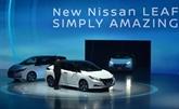 Voitures électriques : Nissan présente sa nouvelle Leaf