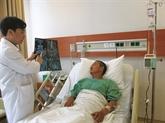 Chirurgie percutanée contre les gros calculs rénaux