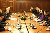 Poursuite des activités d'une délégation du PCV en Hongrie