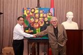 La peinture : passerelle d'amitié entre le Vietnam et la Grèce