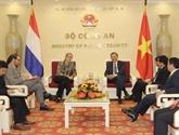 Le Vietnam et les Pays-Bas coopèrent dans la lutte contre la criminalité