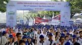 Marche Lawrence S. Ting à Hô Chi Minh-Ville