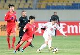 Championnat dAsie U23 : le Vietnam a bien résisté face à la République de Corée