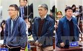 Le parquet requiert 14-15 ans de prison pour Dinh La Thang, la perpétuité pour Trinh Xuân Thanh