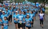 Plus de 8.000 coureurs au marathon de Hô Chi Minh-Ville