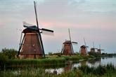 LUNESCO fait souffler un vent nouveau pour les moulins néerlandais