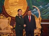Renforcement des relations Vietnam - Laos dans la défense