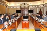 Hô Chi Minh-Ville et la préfecture de Kagoshima promeuvent la coopération