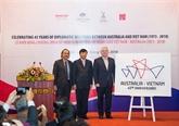 Le Vietnam et l'Australie célèbrent cette année les 45 ans de relations diplomatiques