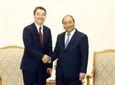 Le Premier ministre reçoit le directeur général de Doosan Vina