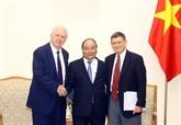 Le Premier ministre vietnamien reçoit des professeurs de Havard Kennedy School