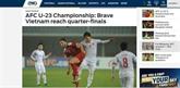 Football : la presse salue la performance de l'U23 Vietnam