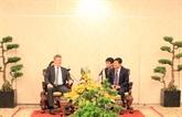 Le chef de l'Agence française anti-corruption en visite de travail à Hô Chi Minh-Ville