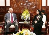 La vice-présidente vietnamienne reçoit une délégation russe