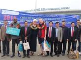 Nouvel An : afflux de touristes étrangers dans les localités vietnamiennes