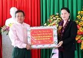 La présidente de l'Assemblée nationale poursuit sa visite de travail à Hà Tinh
