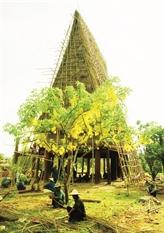 La nhà rông, pièce essentielle dans la vie culturelle des Sê Dang