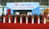 Lexposition Vietship 2018 attire de nombreuses entreprises internationales