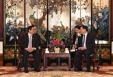 Un dirigeant vietnamien en visite à Guangdong, en Chine