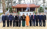 Inauguration d'une maison commémorative du Président Hô Chi Minh à Son La