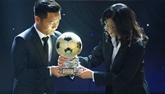 Dinh Thanh Trung remporte le Ballon dor du Vietnam 2017