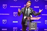 L'équipe de Beckham à Miami va intégrer le championnat nord-américain (MLS)