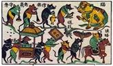 Dà Nang : une exposition sur les peintures folkloriques du Vietnam