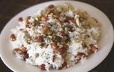 Riz gluant aux cacahuètes