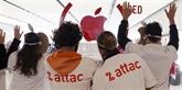 Apple assigne Attac en référé après l'occupation d'un de ses magasins