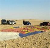 Une montgolfière s'écrase en Égypte, un touriste sud-africain tué