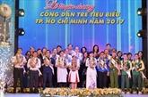Hô Chi Minh-Ville : dix jeunes citoyens exemplaires à l'honneur
