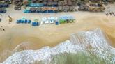 La beauté de la plage dAn Bang à Hôi An