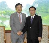 Banque-finance : le sud-coréen Keb Hana exhorté à investir au Vietnam