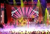 Programme artistique Des mélodies sur la Patrie retentissantes à Hanoï