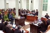 Le procès de laffaire survenue à PetroVietnam et à PVC souvre